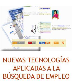 Portada del Curso de Nuevas Tecnologías aplicadas a la búsqueda de empleo