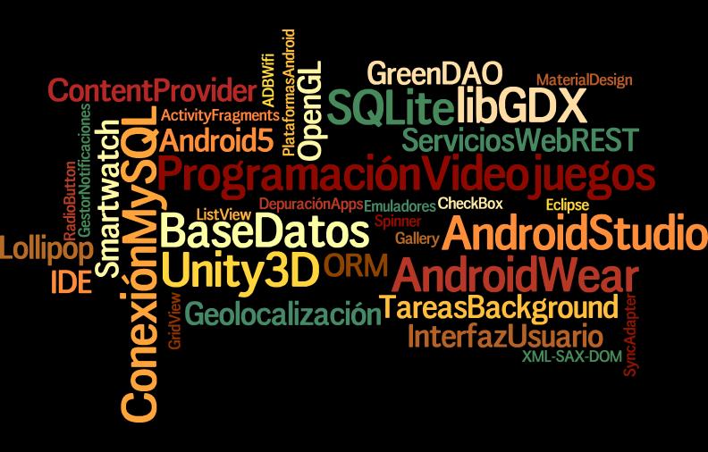 Programación Android Y Desarrollo De Videojuegos