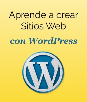 Cartel curso WordPress