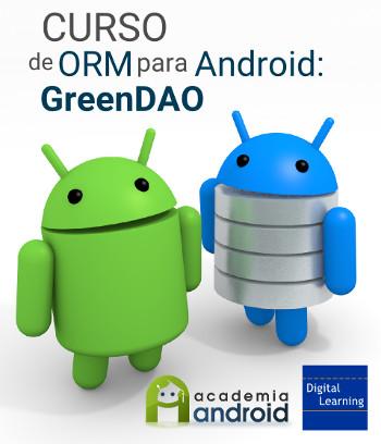 Cartel curso ORM GreenDAO