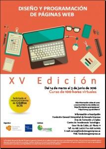 Curso Diseño y Programación Web edición 15ª