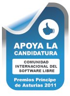 Apoyo candidatura SL a premios Principes de Asturias