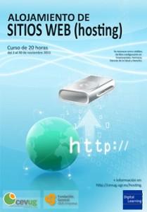 curso de hosting en el cevug