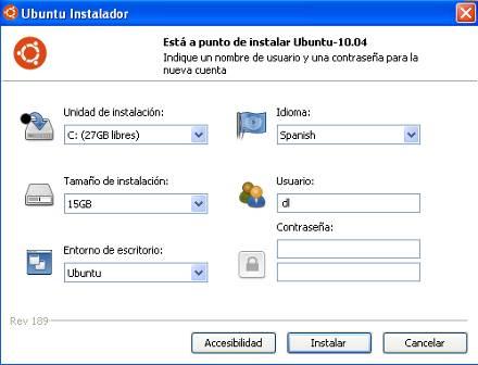 Ubuntu Instalador
