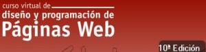 Cartel Curso Diseño y Programación Web ed 10ª