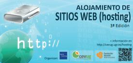 Cartel Curso Alojamiento Web ed3ª