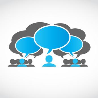 Diálogo en la red