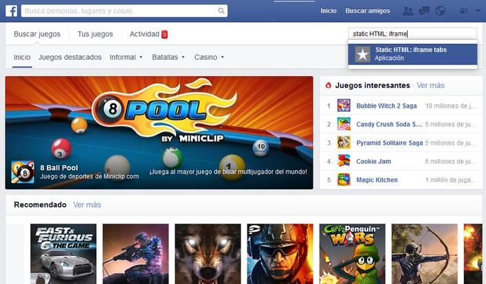 Centro de Juegos FB