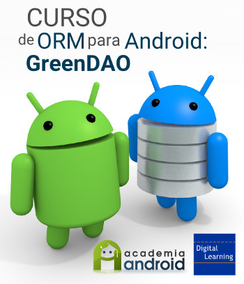 Cartel curso ORM GreenDAO